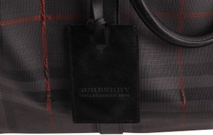 Burberry Grey Travel Bag