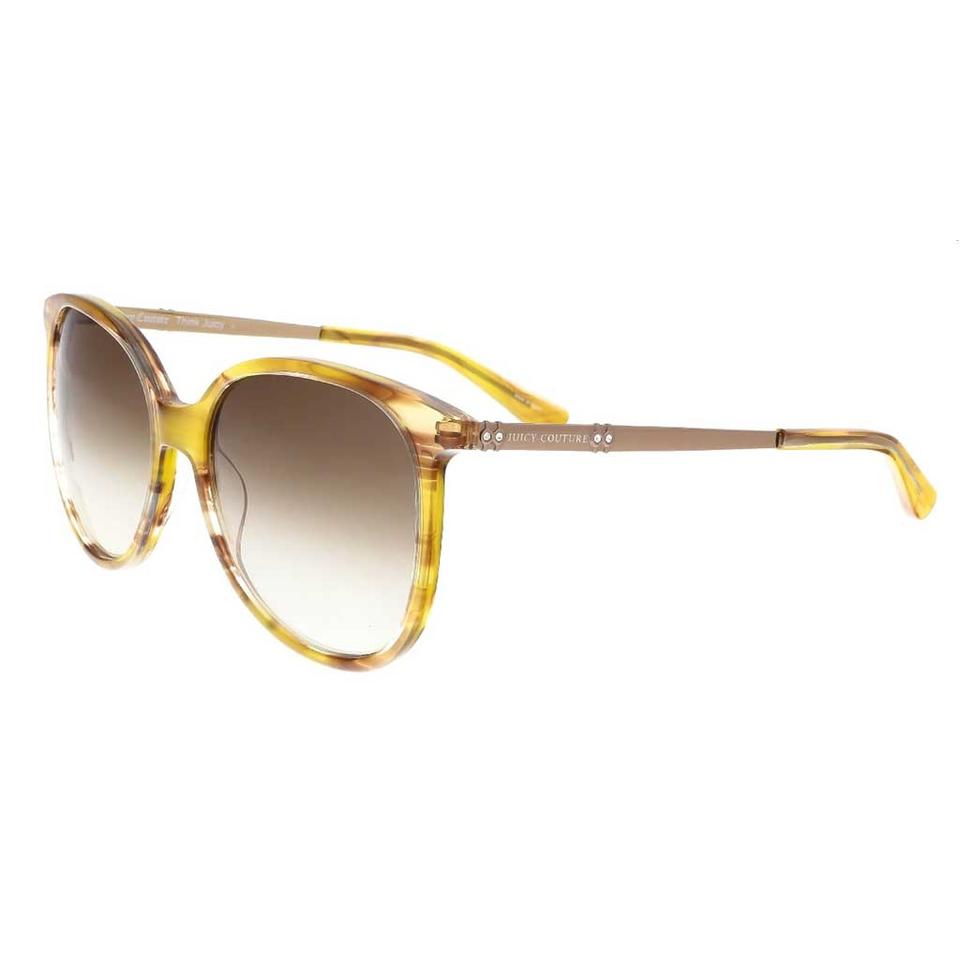 de739379ed Juicy Couture Juicy Couture Light Havana Square Sunglasses ...