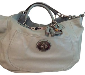 Coach Satchel in Robbins Egg Blue
