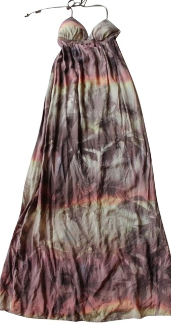 Multicolored Maxi Dress by O'Neill Tropical Print Maxi