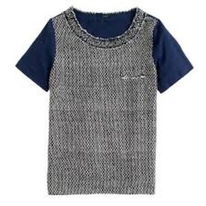 J.Crew T Shirt Navy Blue