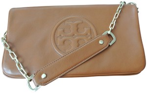 Tory Burch Brown Clutch