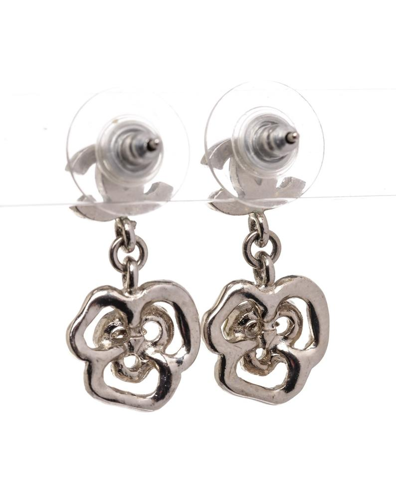 Chanel Camellia Earrings