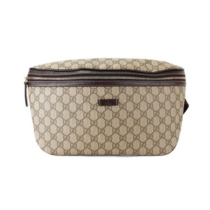 Gucci Monogram GG Supreme Canvas Belt Bag