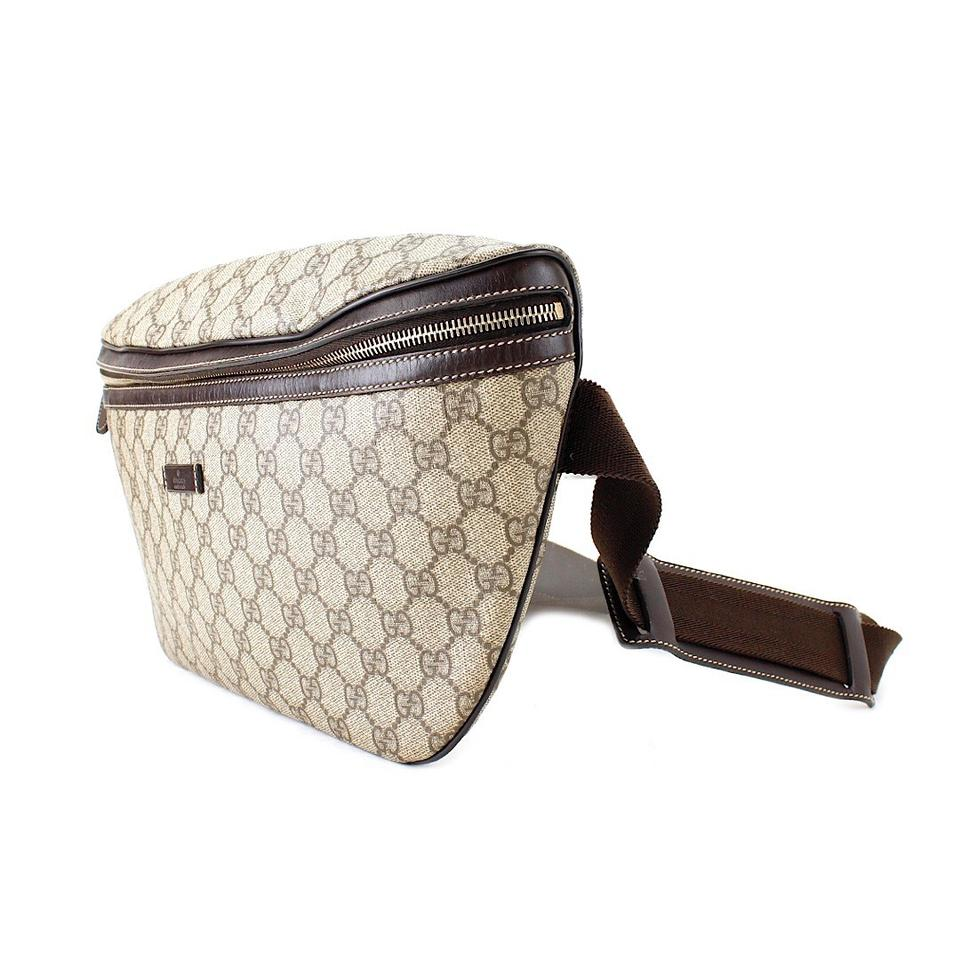 e6b9cb440f1a Gucci Monogram GG Supreme Canvas Belt Bag Image 9. 12345678910