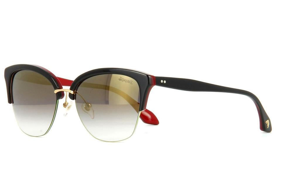 7d3383c6862 Dita Black   Grey Von Teese Women Dvt-200-red-blk Frame Lens Sunglasses