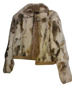 Anne Klein Fur Rabbit Vintage Fur Coat
