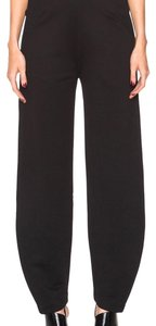 Acne Studios Baggy Pants Black with blue side seam