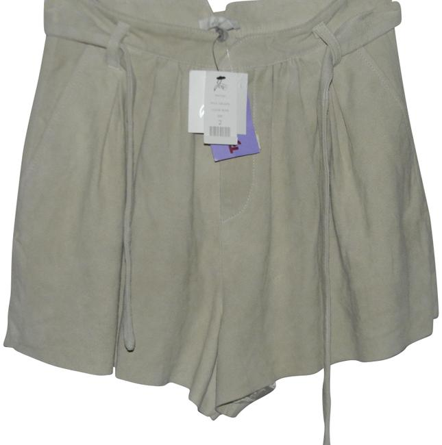 Item - Stone Suede Belted Shorts Size 2 (XS, 26)