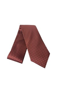 Gucci Gucci Men's Geometric Red/Orange Necktie 349407