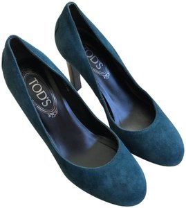 Tod's Teal Pumps