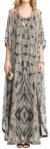 Maxi Dress by Diane von Furstenberg Silk Embellished Kaftan Caftan Maxi