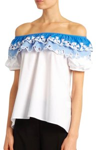 Peter Pilotto Top White and Blue