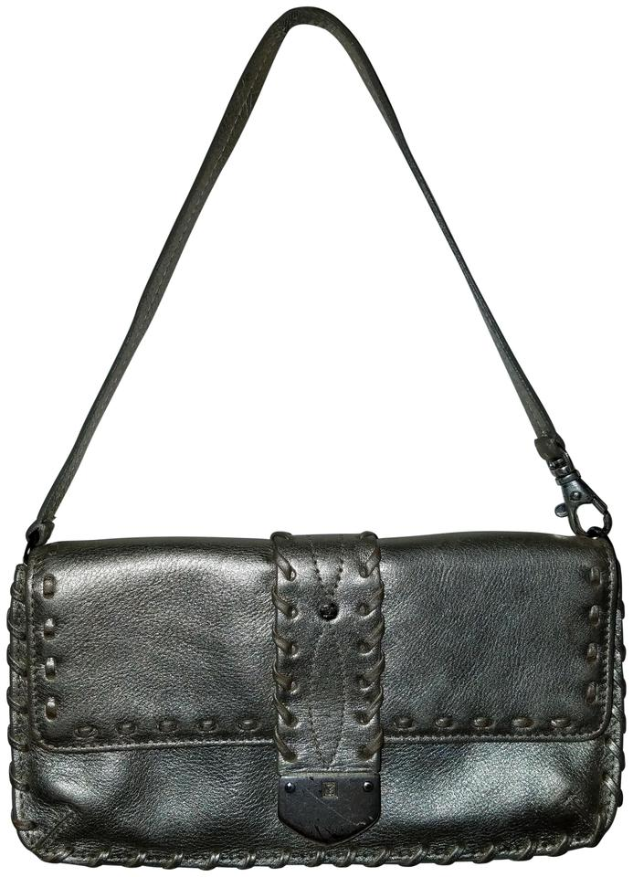 4dac5a3a9159 MICHAEL Michael Kors Small Metallic Leather Shoulder Bag - Tradesy