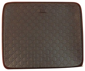 Gucci RED GG GUCCISSIMA PATENT LEATHER IPAD TABLET HOLDER CASE #283782