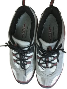 b4a68327c950 MBT Grey Red Athletic. MBT Grey Red Masai Barefoot Technology Sneakers ...