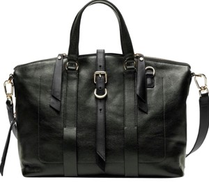 Banana Republic Satchel in Dark Green