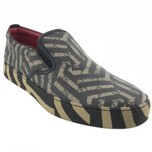Gucci Mens Slip-on Sneakers Multicolor Flats