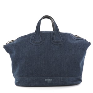 Givenchy Denim Blue Travel Bag