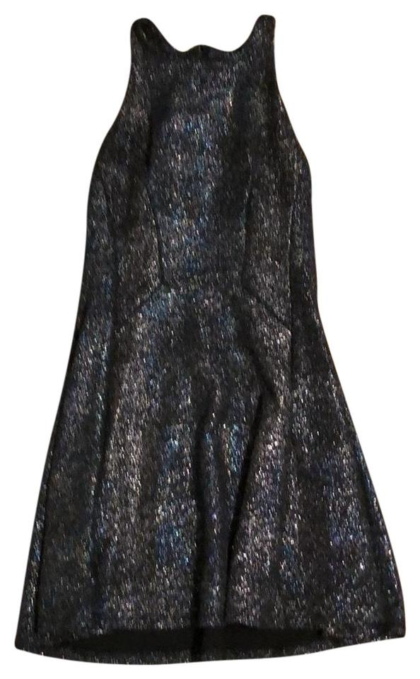 Lord & Taylor Black Fit and Flare Short Cocktail Dress Size 12 (L ...