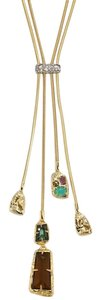 Alexis Bittar Snake Chain Lariat Necklace