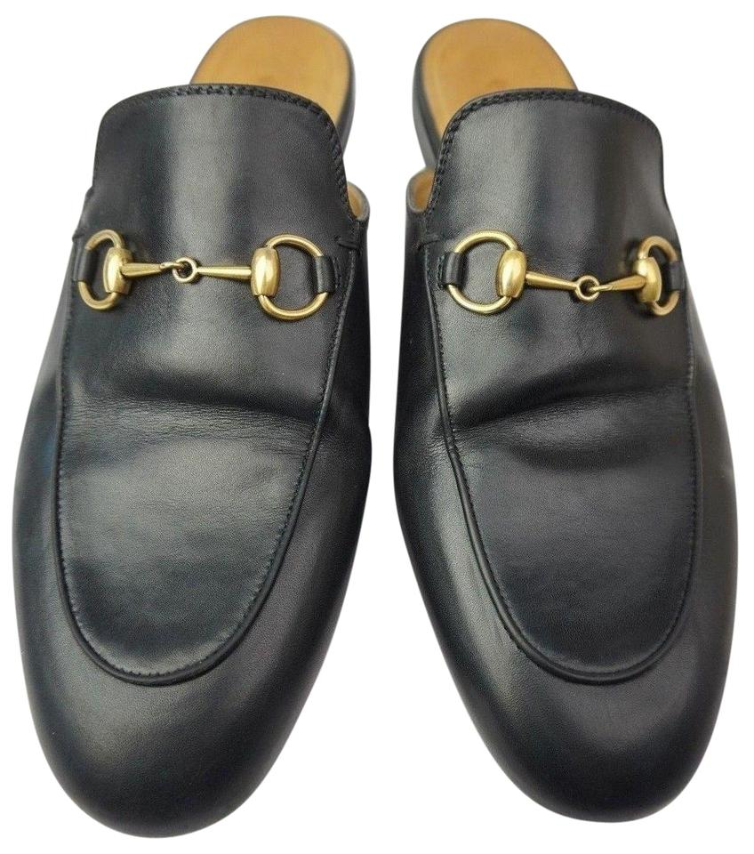 275c317470e Gucci Black Women s Princetown Leather Loafer Mules Slides. Size  EU 38.5  (Approx. US 8.5) Regular (M ...