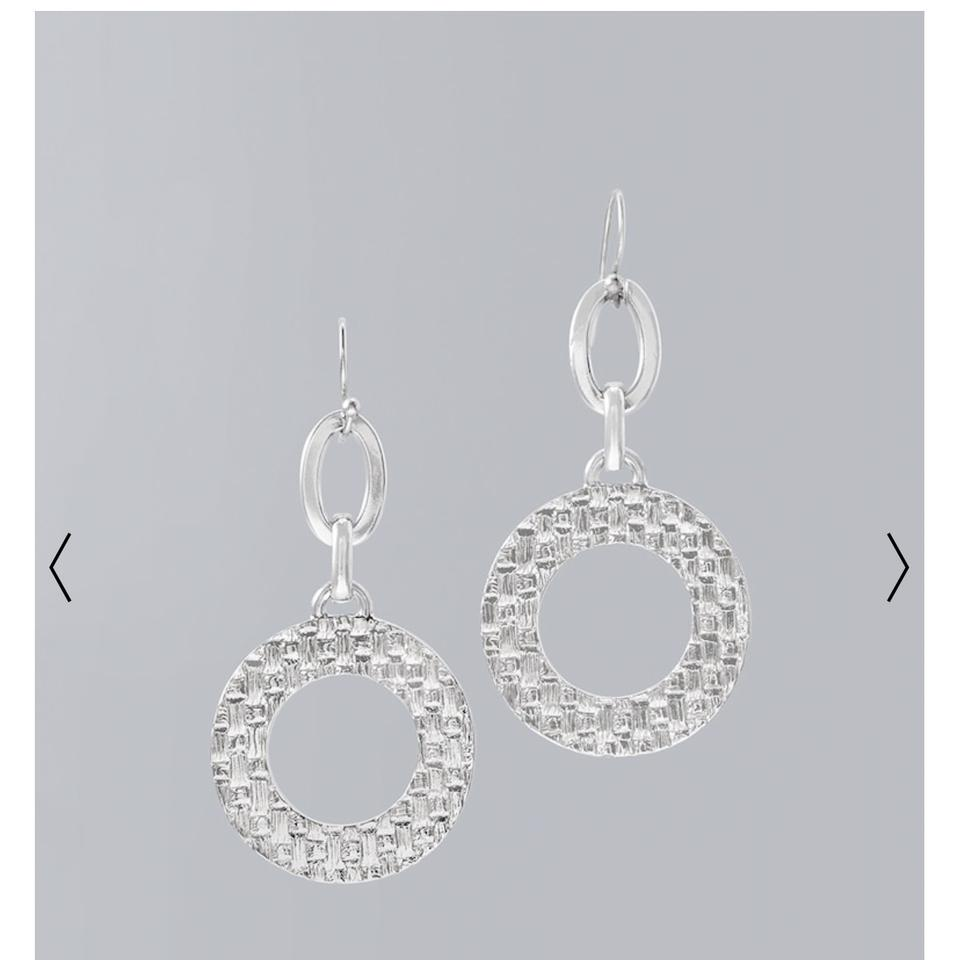 stone earrings circle drop silver salt products circular celestial earring gladiator