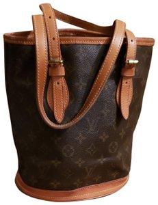 Louis Vuitton Domed Bucket Monogram Shoulder Bag