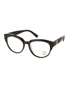MCM NEW MCM 2621 Black Logo Half Rim Cat Eye Eyeglasses Frames