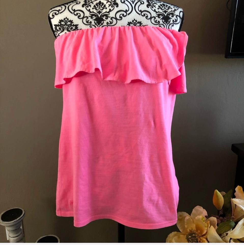 Lilly Pulitzer Pink Wiley Tube Night Out Top Size 16 (XL, Plus 0x ...