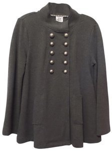 Anthropologie Double D Ivy Jane Embroidered Military Jacket