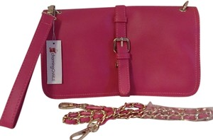 charming CHARLIE Pink Rope Shoulder Bag