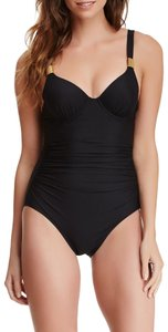 Spanx Sweetheart Ruched One Piece Swimsuit 6 D/DD
