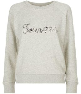 Paige Longsleeve Embroidered Cotton Sweatshirt