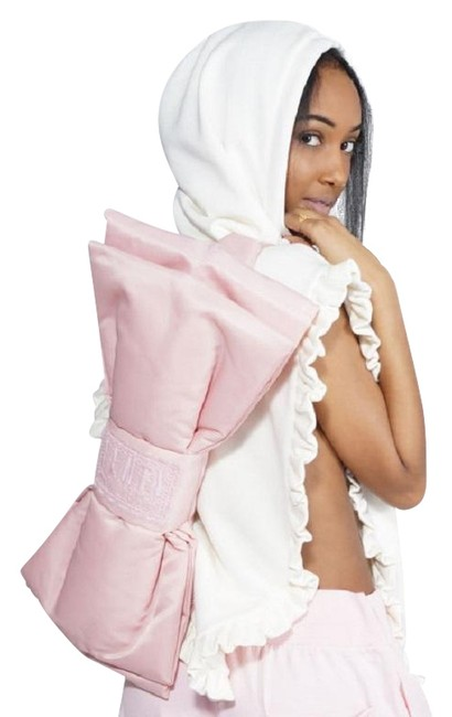 Item - Crosspack Bow Pink Nylon / Lace / Polyester Backpack