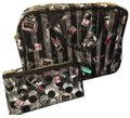 Modella Cosmetic Beauty Organizer Fashionista Clear with Multicolor accents Travel Bag