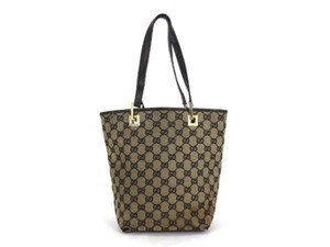 6022709f68c GUCCI Vintage All Over Logo On Coated Canvas Handb in 2018