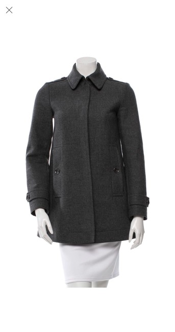 Item - Grey Wool/Cashmere Coat Size 0 (XS)