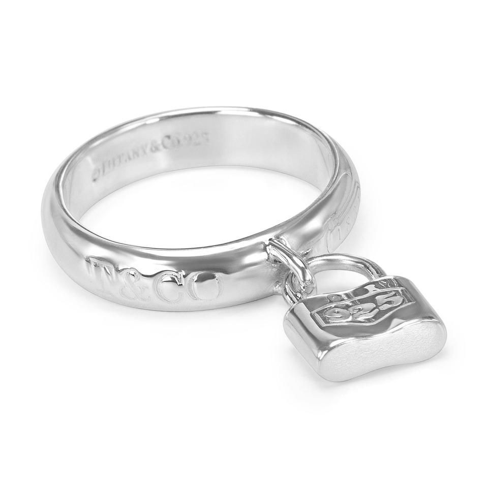tiffany co silver 1837 padlock ring tradesy. Black Bedroom Furniture Sets. Home Design Ideas