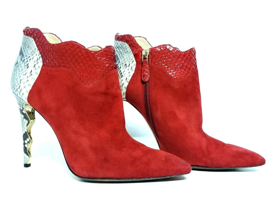 WOMENS Alexandre Birman Red Boots/Booties price selling price Boots/Booties 3e40d9