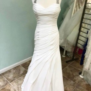 Lillian West Gown Destination Wedding Dress Size 10 (M)