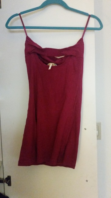 Free People short dress Magenta Tube Cut-out on Tradesy