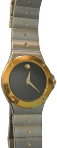 Movado Two Tone Movado Swiss Made Lady's Wristwatch