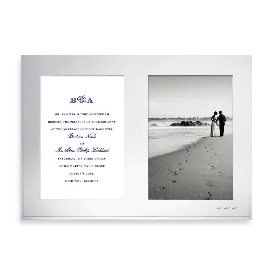 Silver New York Darling Point™ Double 5 X 7 Picture Photo Frame ...