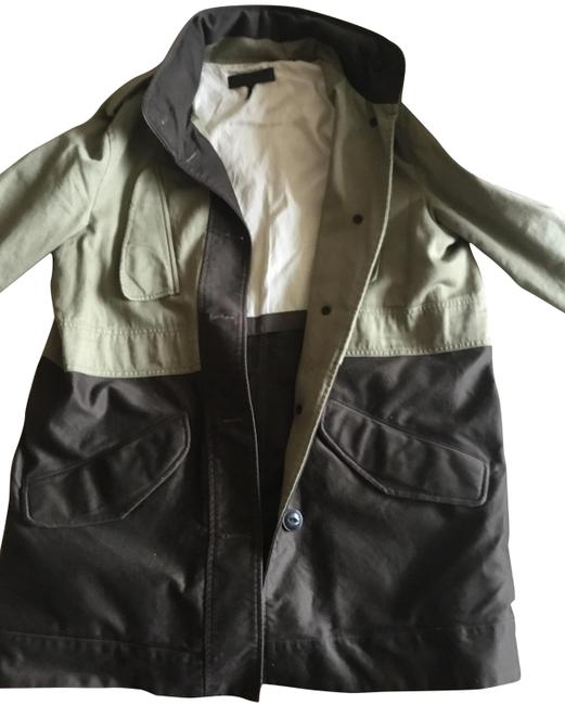 Item - Green Two-tone Jacket Size 10 (M)