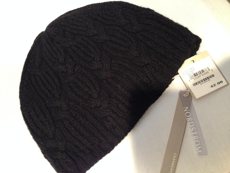 c5a9c8c26b438 Nordstrom Cashmere   Gloves Black New with Tags And Scarf Wrap - Tradesy