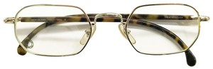 Montblanc Montblanc Rounded Geometric Silver Tone Frames