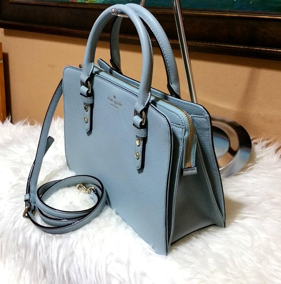 aa184b6ff0 Kate Spade Lise Mulberry Street Tote -- Unique Color Lakesedge Green Leather  Satchel - Tradesy