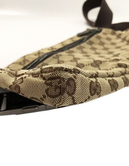6301e43e3c41 Gucci Monogram Fanny Pack Belt Bag | Stanford Center for Opportunity ...