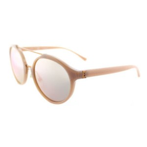 Tory Burch Tory Burch Unisex Sunglasses TY9048 1624R5 Rose Gold Frame Blue Lens